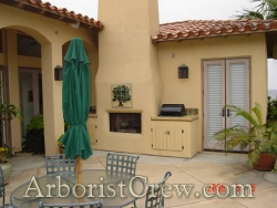 Professionally landscaped patio area in Camarillo