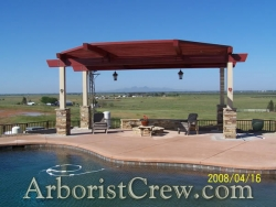 A gazebo patio cover in Camarillo